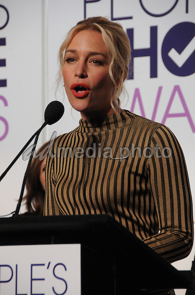 15 November 2016 - Beverly Hills, California - Piper Perabo. 2017 People's Choice Awards Announcements held at The Paley Center for Media. Photo Credit: Birdie Thompson/AdMedia