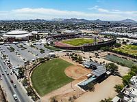 Vista aerea de Complejo deportivo de la Comisión Estatal de Deporte, CODESON en Hermosillo, Sonora....<br /> Estadio Héroe de Nacozari. <br /> CUM. <br /> Estadio de béisbol Estadio Fernando M. Ortiz<br /> <br /> <br /> Photo: (NortePhoto / LuisGutierrez)<br /> <br /> ...<br /> keywords: