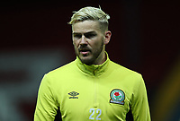 Blackburn Rovers' Ben Gladwin during the pre-match warm-up <br /> <br /> Photographer Rachel Holborn/CameraSport<br /> <br /> EFL Checkatrade Trophy - Northern Section Group C - Blackburn Rovers v Bury - Tuesday 3rd October 2017 - Ewood Park - Blackburn<br />  <br /> World Copyright &copy; 2018 CameraSport. All rights reserved. 43 Linden Ave. Countesthorpe. Leicester. England. LE8 5PG - Tel: +44 (0) 116 277 4147 - admin@camerasport.com - www.camerasport.com