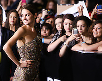 "WESTWOOD, LOS ANGELES, CA, USA - MARCH 18: Shailene Woodley at the World Premiere Of Summit Entertainment's ""Divergent"" held at the Regency Bruin Theatre on March 18, 2014 in Westwood, Los Angeles, California, United States. (Photo by Xavier Collin/Celebrity Monitor)"