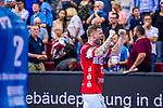 THOR GUNNARSSON, Arnor (#11 Bergischer HC) \ beim Spiel in der Handball Bundesliga, TVB 1898 Stuttgart - Bergischer HC.<br /> <br /> Foto © PIX-Sportfotos *** Foto ist honorarpflichtig! *** Auf Anfrage in hoeherer Qualitaet/Aufloesung. Belegexemplar erbeten. Veroeffentlichung ausschliesslich fuer journalistisch-publizistische Zwecke. For editorial use only.