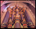 Flentrop organ details, Duke Chapel, shot for the Chapel Book circa 2001 on 6x7 positive film/RZ65 camera.