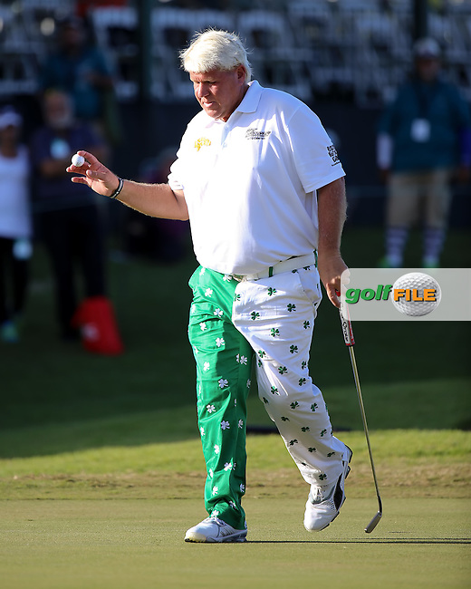 06 MAR 15  John Daly on18 during the Second Round at The Puerto Rico Open at The Trump International Golf Club in Rio Grande,  Puerto Rico  (photo credit : kenneth e. dennis/kendennisphoto.com)