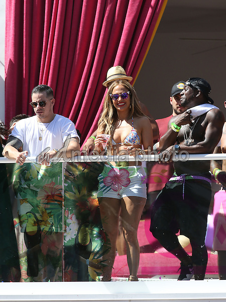 29 May 2016 - Las Vegas, Nevada - Jennifer Lopez.  Jennifer Lopez Makes Drai's Las Vegas Hosting Debut at CARNIVAL DEL SOL at Drai's Beachclub at the Cromwell.  Photo Credit: MJT/AdMedia