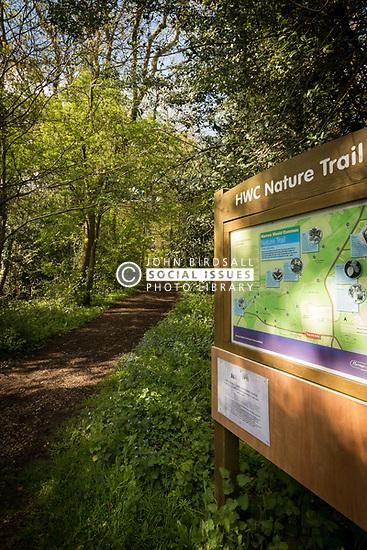 Harrow Weald Common Nature Trail, West London UK