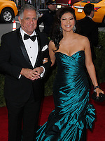 "NEW YORK CITY, NY, USA - MAY 05: Leslie Moonves, Julie Chen at the ""Charles James: Beyond Fashion"" Costume Institute Gala held at the Metropolitan Museum of Art on May 5, 2014 in New York City, New York, United States. (Photo by Xavier Collin/Celebrity Monitor)"