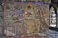 BG41171.JPG BULGARIA, RILA MONASTERY, CHURCH OF NATIVITY, frescoes