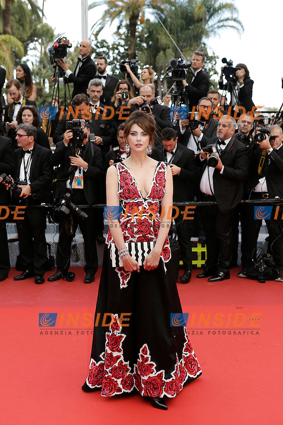 Frederique Bel<br /> Festival di Cannes 2016 <br /> Foto Panoramic / Insidefoto