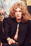 Led Zeppelin 1969 Robert Plant at the Lyceum<br /> &copy; Chris Walter