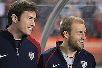 Conor Casey, Clint Mathis, right, Panama vs USA, World Cup qualifier at RFK Stadium, 2004.