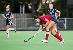 AMSTELVEEN  - Macey de Ruiter (Lar) , hoofdklasse hockeywedstrijd dames Pinole-Laren (1-3). COPYRIGHT  KOEN SUYK