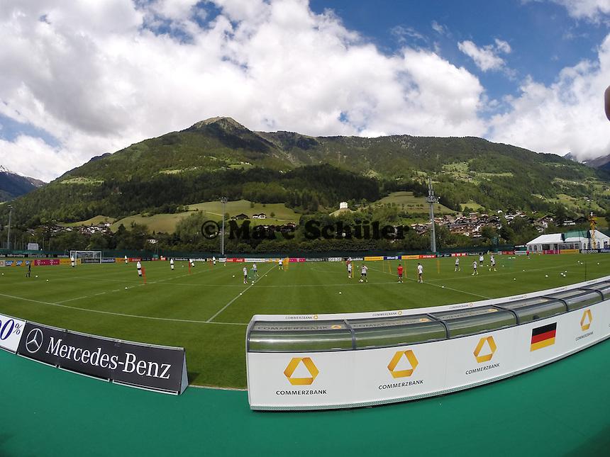 Deutsche Nationalmannschaft beim Abschlusstraining - Abschlusstraining der Deutschen Nationalmannschaft  im Rahmen der WM-Vorbereitung in St. Martin
