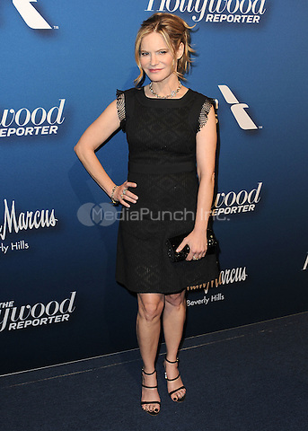 BEVERLY HILLS, CA - FEBRUARY 8:  Jennifer Jason Leigh at the The Hollywood Reporter's Nominees Night at Spago on February 8, 2016 in Beverly Hills, California. Credit: PGSK/MediaPunch