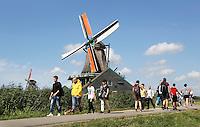 Nederland  Zaanse Schans  2016.  Verfmolen de Kat.  Foto Berlinda van Dam / Hollandse Hoogte