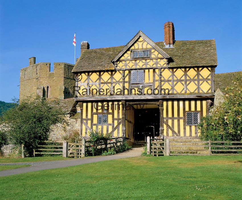 Great Britain, England, Shropshire, Stokesay: Stokesay Castle - the Gatehouse | Grossbritannien, England, Shropshire, Stokesay: Stokesay Castle - the Gatehouse