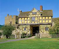 Great Britain, England, Shropshire, Stokesay: Stokesay Castle - the Gatehouse | Grossbritannien, England, Shropshire, Stokesay: Stokesay Castle - the Gatehouse
