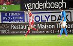 Hoogstraten kon aanvankelijk nog vieren na de 1-0 van Jeroen Meeuwis, maar die vreugde was van korte duur.