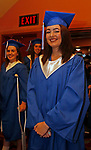 Torrington, CT 062117MK03 Jadelyn Winfield just  prior to the Lewis Mills High School commencement exercises at the Warner Theatre in Torrington on Wednesday night. Michael Kabelka / Republican-American