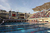 STANFORD, CA - FEBRUARY 13:  The Avery Aquatic Center facility during Stanford's 167-131 win over California at the Avery Aquatic Center on February 13, 2010 in Stanford, California.