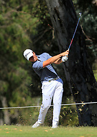 Jake McLeod (AUS) on the 18th fairway during Round 1 of the ISPS Handa World Super 6 Perth at Lake Karrinyup Country Club on the Thursday 8th February 2018.<br /> Picture:  Thos Caffrey / www.golffile.ie<br /> <br /> All photo usage must carry mandatory copyright credit (&copy; Golffile | Thos Caffrey)