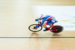 Elinor Barker of Great Britain competes in the Women's Points Race 25 km Final during the 2017 UCI Track Cycling World Championships on 16 April 2017, in Hong Kong Velodrome, Hong Kong, China. Photo by Marcio Rodrigo Machado / Power Sport Images
