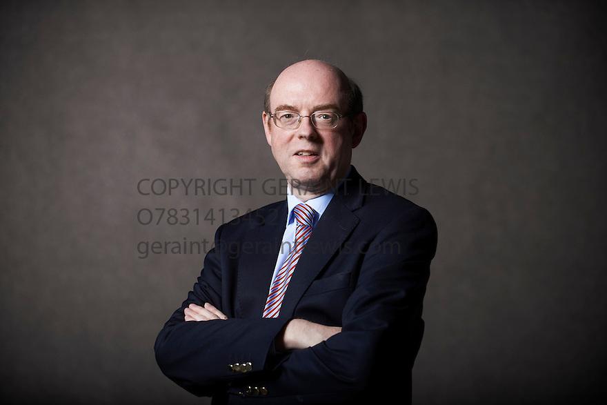 Ian Garden, writer  at The Edinburgh International Book Festival   . Credit Geraint Lewis