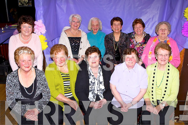 Mary Moriarty, Iveragh Road, Killorglin who celebrated her 80th birthday with her friends in Bunkers bar Killorglin on Friday night front row l-r: Phil Browne, Nora Evans, Mary Moriarty, Maureen and Sheila O'Sullivan. Back row: Mary Ferris, Eileen McGillycuddy, Lena Flynn, Margaret Gill, Nuala O'Sullivan and Susie Breen