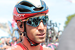 Vincenzo Nibali (ITA) Bahrain-Merida at sign on before Stage 4 of the 2019 Tour de France running 213.5km from Reims to Nancy, France. 9th July 2019.<br /> Picture: Colin Flockton | Cyclefile<br /> All photos usage must carry mandatory copyright credit (© Cyclefile | Colin Flockton)