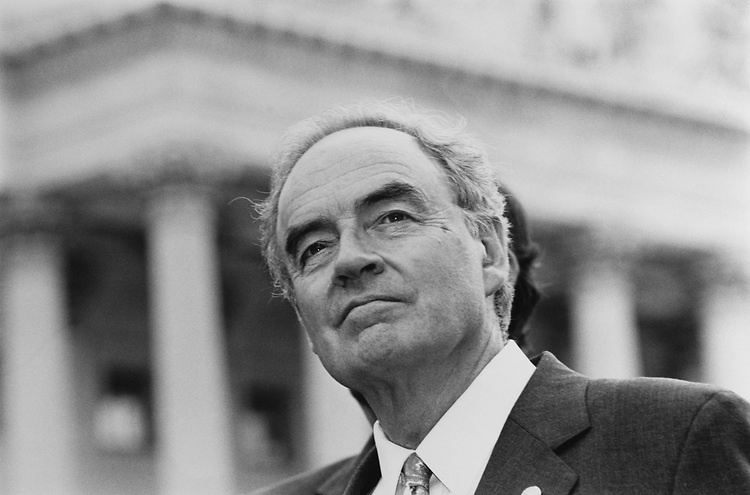 Sen. Harris Wofford, D-Pa., in June 5, 1991. (Photo by Maureen Keating/CQ Roll Call via Getty Images)