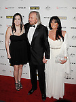 HOLLYWOOD, CA - January 22: Alexandra Gibb, Barry Gibb and Linda Ann Gibb arrive at the G'Day USA Australia Week 2011 Black Tie Gala at the Hollywood Palladium on January 22, 2011 in Hollywood, California.
