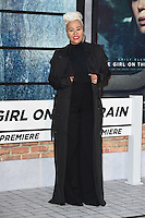 Emilie Sande<br /> at the premiere of &quot;The Girl on the Train&quot;, Odeon Leicester Square, London.<br /> <br /> <br /> &copy;Ash Knotek  D3156  20/09/2016