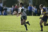 Junior Leota Counties Manukau Premier Club Rugby, Patumahoe vs Manurewa played at Patumahoe on Saturday 6th May 2006. Patumahoe won 20 - 5.
