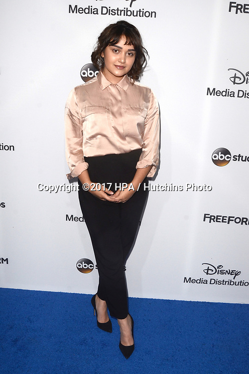 LOS ANGELES - MAY 21:  Ariela Barer at the 2017 ABC/Disney Media Distribution International Upfront at the Walt Disney Studios on May 21, 2017 in Burbank, CA