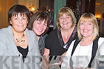 NIGHT OUT: Kathleen Behan, Geraldine O'Shea, Kit Naughton and Eileen Walsh from Ballyheigue and the Spa who had a great night at the Oyster Tavern on Sunday night to celebrate Women's Christmas.   Copyright Kerry's Eye 2008
