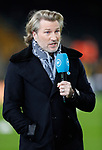 BT Sport pundit former player Robbie Savage during the Premier League match at Molineux, Wolverhampton. Picture date: 14th February 2020. Picture credit should read: Darren Staples/Sportimage