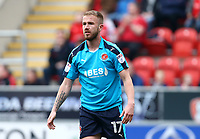 Paddy Madden of Fleetwood Town during the Sky Bet League 1 match between Rotherham United and Fleetwood Town at the New York Stadium, Rotherham, England on 7 April 2018. Photo by Leila Coker.