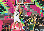 07.09.2014. Barcelona, Spain. 2014 FIBA Basketball World Cup, round of 16. Picture show T. Abercrombie  in action during game between New Zealand   v  Lithuania at Palau St. Jordi