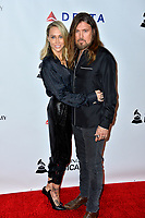 LOS ANGELES, CA. February 08, 2019: Billy Ray Cyrus &amp; Letitia Cyrus at the 2019 MusiCares Person of the Year Gala honoring Dolly Parton at the Los Angeles Convention Centre.<br /> Picture: Paul Smith/Featureflash