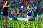 Killian Young Kerry in action against  Mayo in the All Ireland Semi Final in Croke Park on Sunday.