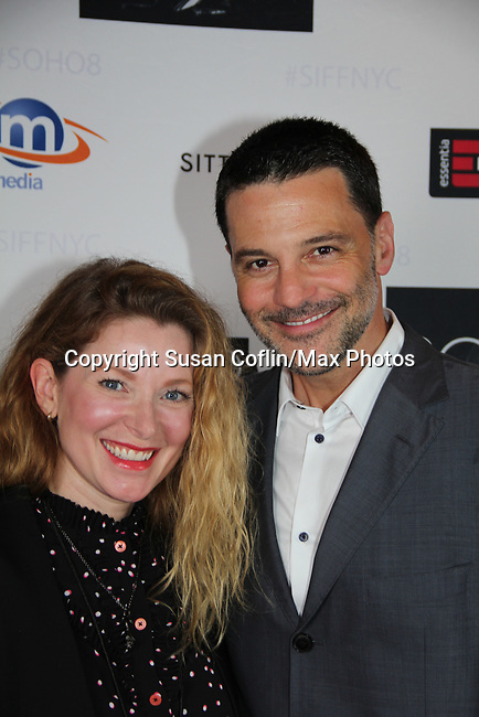 -  Seeing is Believing: Women Direct at its East Coast Premiere at Soho International Film Festival on June 19, 2017 in New York City, New York.(Photos by Sue Coflin/Max Photos) Cady McClain, David Alan Basche
