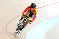 Finn Fisher-Black of Tasman competes in the U17 Boys Sprint race  at the Age Group Track National Championships, Avantidrome, Home of Cycling, Cambridge, New Zealand, Friday, March 17, 2017. Mandatory Credit: © Dianne Manson/CyclingNZ  **NO ARCHIVING**