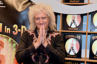 "Brian May promotes 'Queen in 3D""101217"