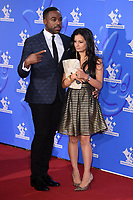 LONDON, UK. September 21, 2018: Ore Oduba & Sonali Shah at the National Lottery Awards 2018 at the BBC Television Centre, London.<br /> Picture: Steve Vas/Featureflash