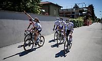 Shane Archbold (NZL/Deceuninck-Quickstep) is ready to go<br /> <br /> 101st Milano-Torino 2020 (UCI 1.Pro)<br /> 1 day race from Mesero to Stupinigi (198km)