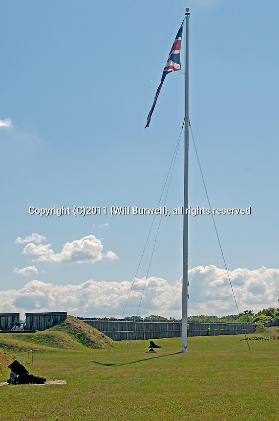 Flag Bastion Fort George, Niagara-on-the-Lake
