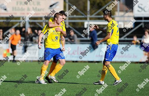 Christof Van Bouwel scoorde de 1-1 voor Ternesse