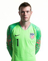 Rome, GA - Friday, June 21, 2019:  Para 7 USMNT headshot of Carter Alvey.