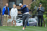 Ho-Sung Choi (KOR) in action at Spyglass Hill Golf Course during the second round of the AT&amp;T Pro-Am, Pebble Beach Golf Links, Monterey, USA. 08/02/2019<br /> Picture: Golffile | Phil Inglis<br /> <br /> <br /> All photo usage must carry mandatory copyright credit (&copy; Golffile | Phil Inglis)