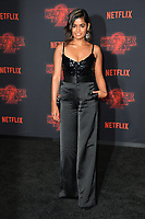 Linnea Berthelsen at the premiere for Netflix's &quot;Stranger Things 2&quot; at the Westwood Village Theatre. Los Angeles, USA 26 October  2017<br /> Picture: Paul Smith/Featureflash/SilverHub 0208 004 5359 sales@silverhubmedia.com
