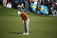 Francesco Molinari (Team Europe) on the 12th during Saturday's Fourballs, at the Ryder Cup, Le Golf National, Île-de-France, France. 29/09/2018.<br /> Picture David Lloyd / Golffile.ie<br /> <br /> All photo usage must carry mandatory copyright credit (© Golffile | David Lloyd)